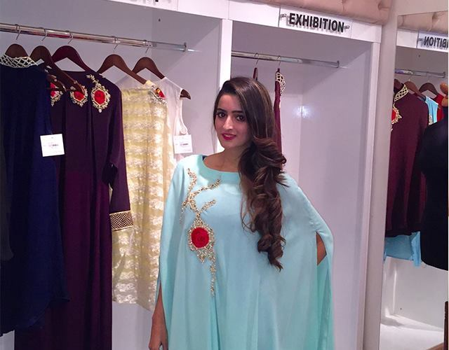 Winter Wedding Party Dresses Teena By Hina Butt 2015-16