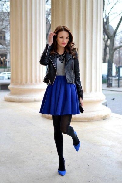 tights on skirts