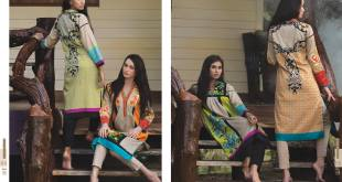 Cheap Pret Kurtis By Firdous Cloth Mills 2015-16