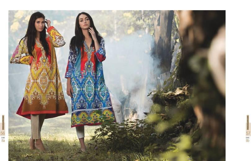 Cheap Pret Kurtis By Firdous Cloth Mills 2015-16 4