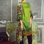 Cottel Fabric Winter Collection By Alkaram Studio 2015-16 2