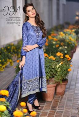 Embroidered Linen Subhata Collection By Shariq Textiles 2016 12
