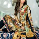 Embroidered Silk Karandi Winter Collection By Gul Ahmed 2015-16 2