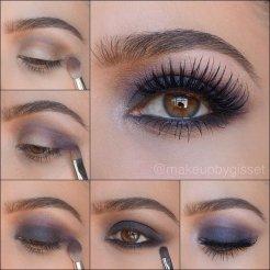 Eye Makeup Tutorial For Fall Season Styling