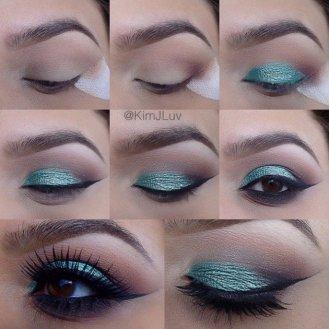 Eye Makeup Tutorial For Fall Season Styling 13