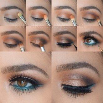 Eye Makeup Tutorial For Fall Season Styling 9