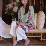 Floral Silk Kurta Collection For Casual Wearing By FTA 2016 8