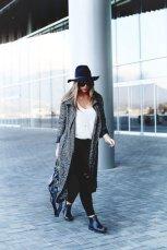 Gray Dark Shades Winter Outfits Women Street Style 2015-16 4
