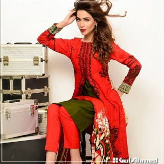 Gul Ahmed Winter Collection 2015 For Pakistani Women 14