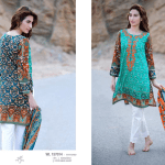 Khaddar Fabric Embroidered Winter Collection By Zeen 2015-16 4