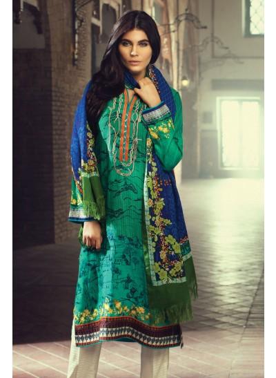 winter dress with shawl