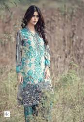 Maria B Linen Winter Dresses For Young Girls 2015-16 7