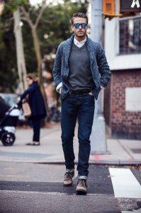 winter casual wear for men