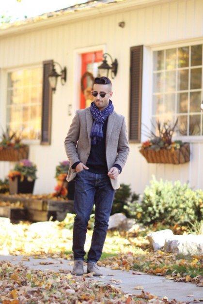 winter street style for men