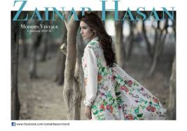 Modern Vintage Shalwar Suits Collection By Zainab Hasan 2016 1