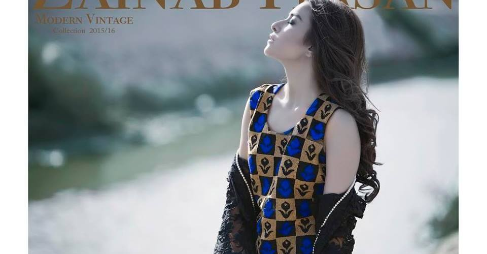 Modern Vintage Shalwar Suits Collection By Zainab Hasan 2016