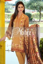 Printed Karandi Winter Collection By Motifz 2015-16 3