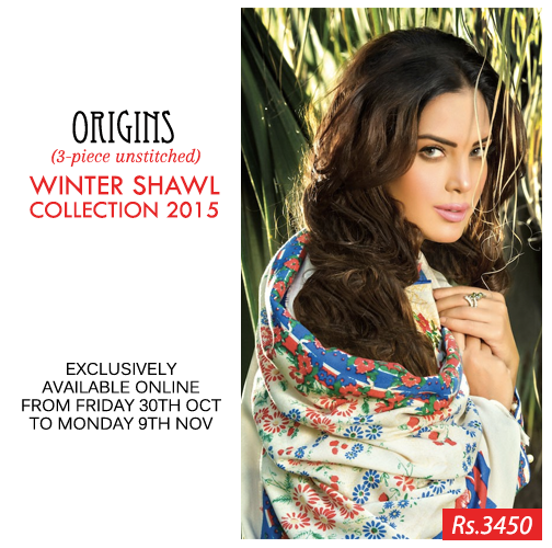 Ready To Wear Winter Kurtis By Origins 2015-16
