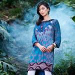 Three Piece Winter Shalwar Kameez By Pareesa 2015-16 8
