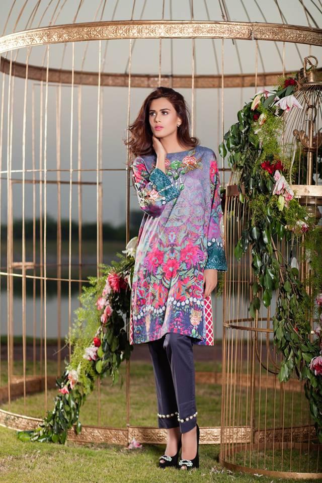 Cross stitch winter dress