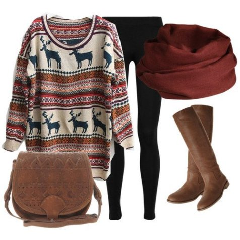 Warm Casual Polyvore Items To Try This Cold Season 14