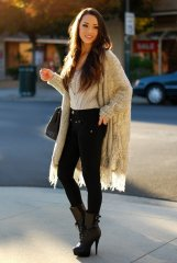 Winter Cardigans To Try With Casual Outfits 5