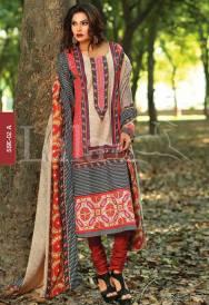 Winter Khaadi Printed Shalwar Kameez By Lala Textiles 2015-16 3