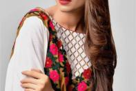 Areeba Saleem Shawl Dresses ZS Textiles 2016