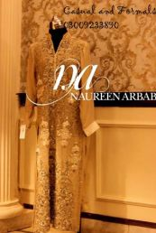 Embroidered Formal Collection Naureen Arbab Dresses 2016 2
