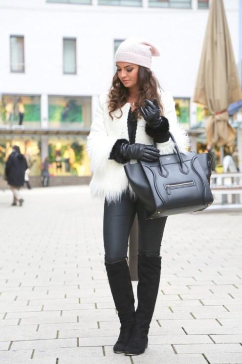 Hair Under Winter Hats Styling Ideas Women Should See 14