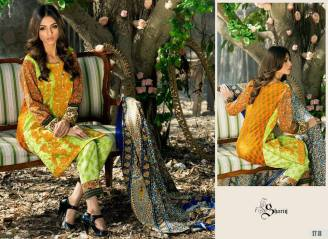Khaddar Shawl Dress Collection Sabeen Pasha 2016 10