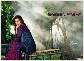 Khaddar Shawl Dress Collection Sabeen Pasha 2016 12
