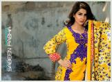 Khaddar Shawl Dress Collection Sabeen Pasha 2016 8