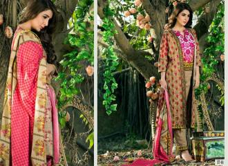 Khaddar Shawl Dress Collection Sabeen Pasha 2016 9