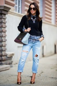 Layered Winter Outfits Women Should Wear 9