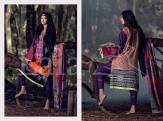 Marina Fabric Embroidered Dresses By Lala Textiles 2015-16 6