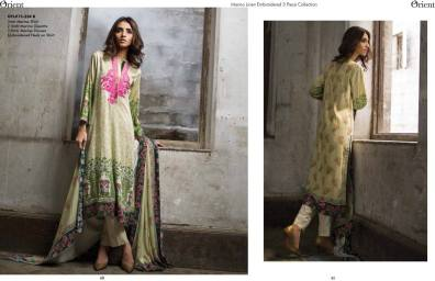 Three Piece Winter Orient Collection 2015-16 8