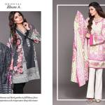 Unstitched Floral Print Dresses By Sapphire 2015-16 5