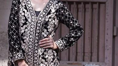Velvet Embroidered Dresses Threadz-Motifs Collection 2016