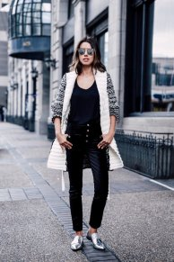 Women Velvet Dresses Winter Casual Street Style Looks 11