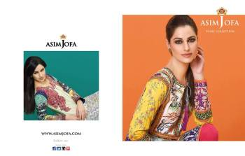 Asim Jofa Summer Tunics Luxury Collection 2016 11
