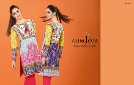 Asim Jofa Summer Tunics Luxury Collection 2016 3