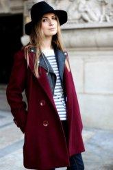 Burgundy Coat Designs Women Should Try This Season 8