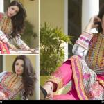 Cambric Embroidered Spring Collection Rujhan Fabrics 2016 14