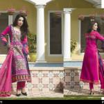 Cambric Embroidered Spring Collection Rujhan Fabrics 2016 7