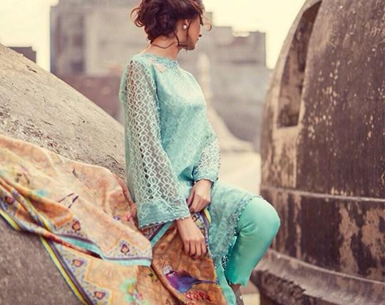 Spring formal dress by Zara Shah Jahan