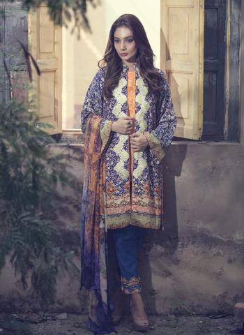 Fancy Embroidered Party Wear Gulaal Collection 2016 11
