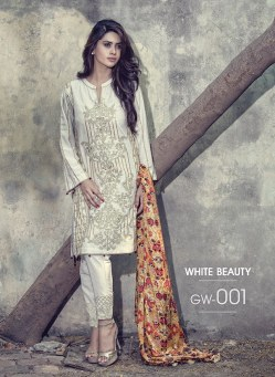 Fancy Embroidered Party Wear Gulaal Collection 2016 2