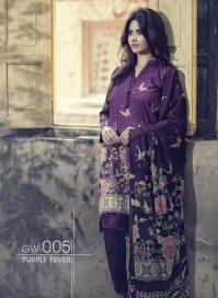 Fancy Embroidered Party Wear Gulaal Collection 2016 6