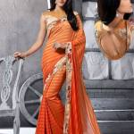 Georgette Silk Saree Collection Natasha Couture 2016 7